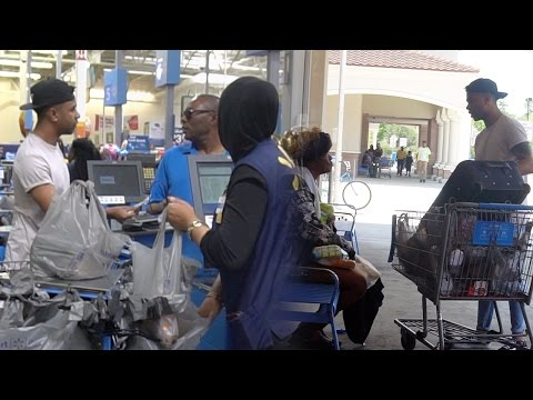 Thumbnail: SURPRISING STRANGERS BY PAYING FOR THEIR GROCERIES!!! SOMETHING AMAZING HAPPENED!!! (MUST WATCH)