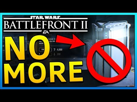 PAY 2 WIN GONE! - Star Wars Battlefront 2 Microtransactions Removed