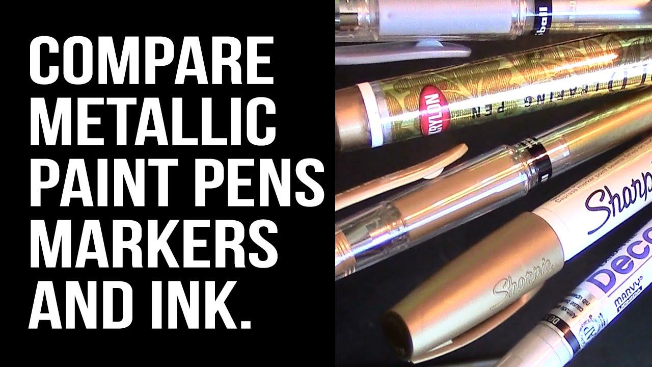 Red Metallic Paint Pen