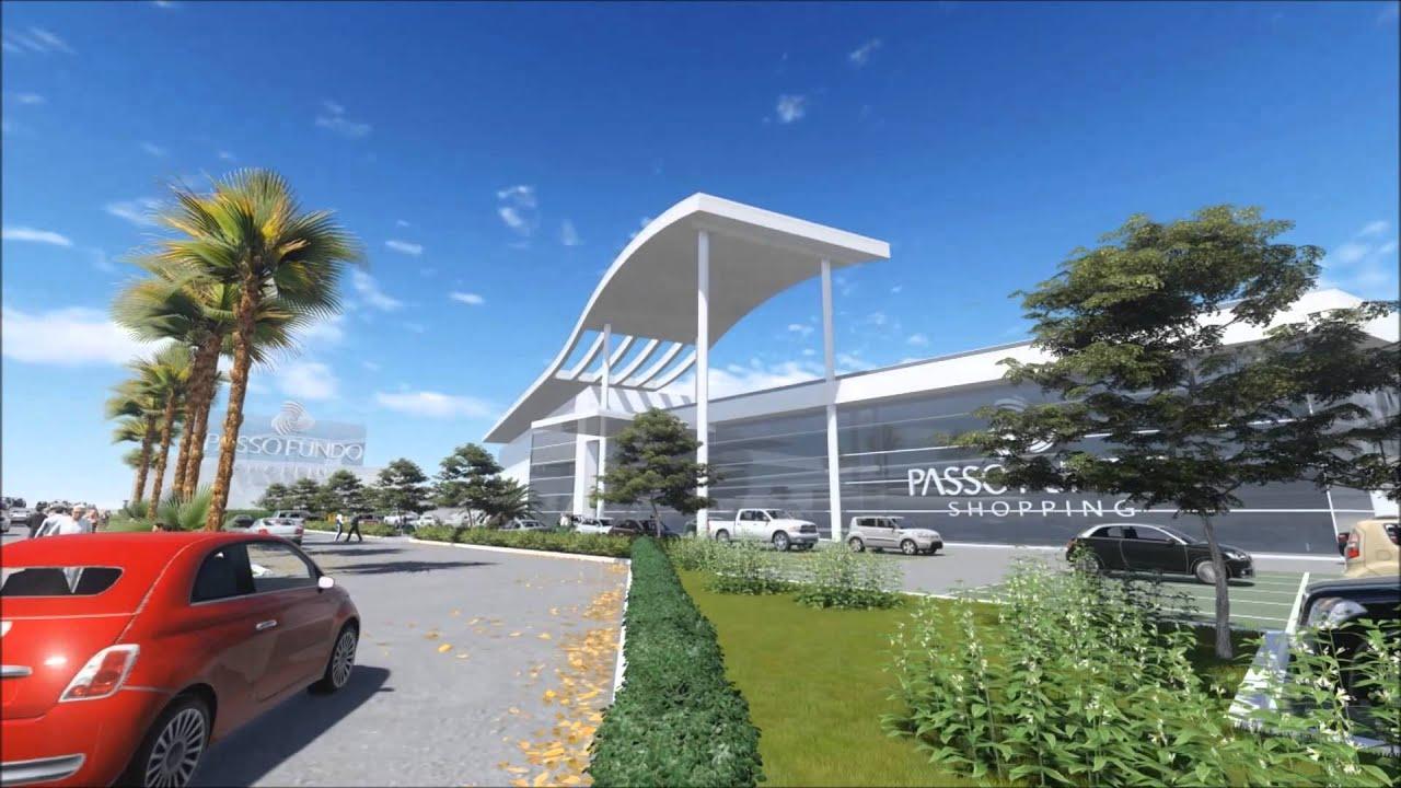 Projeto arquitetônico Passo Fundo Shopping