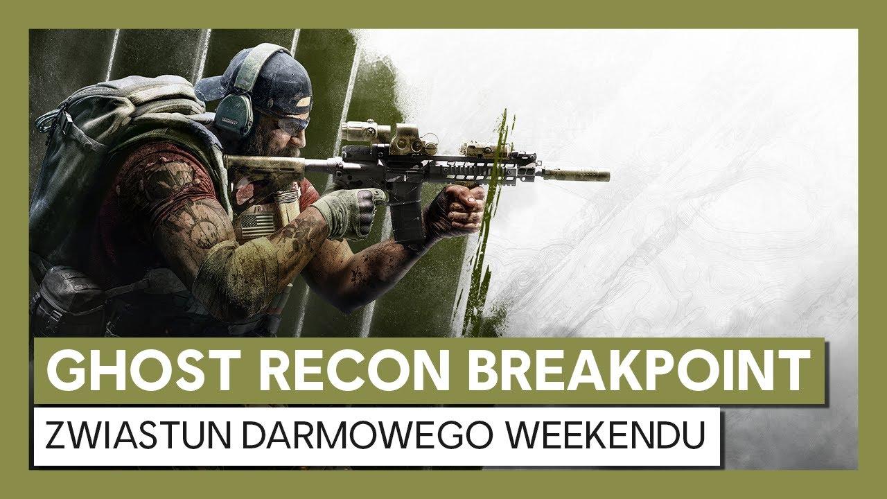 Ghost Recon Breakpoint: Zwiastun darmowego weekendu