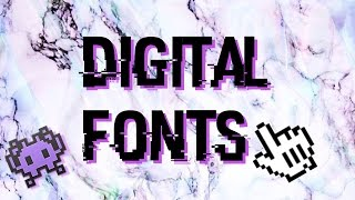 FONTS PACK //DIGITAL FONTS (POPULAR)