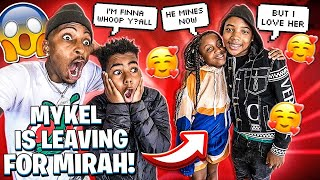 MYKEL IS LEAVING MACEI FOR MIRAH!💔(JAY IS UPSET)