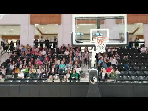 Wofford College during selection show