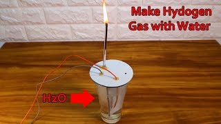 How to Make natural Gas from Water