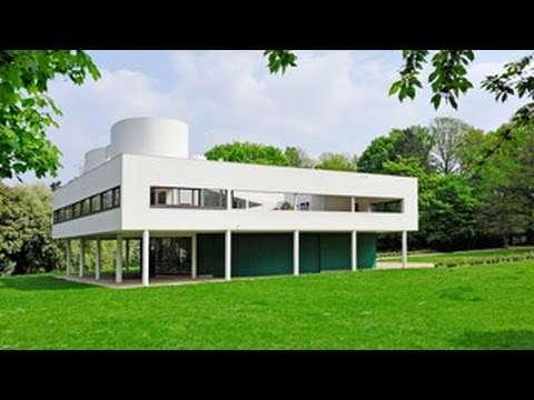 The Villa Savoye: A Manifesto for Modernity - YouTube