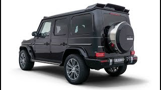 2019 BRABUS G-class based on the new Mercedes G 500