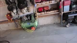 Pressure Washer Fix and Garage Floor Clean