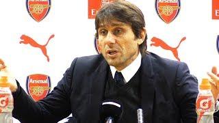 Arsenal 2-2 Chelsea - Antonio Conte Post Match Press Conference - Premier League #ARSCHE