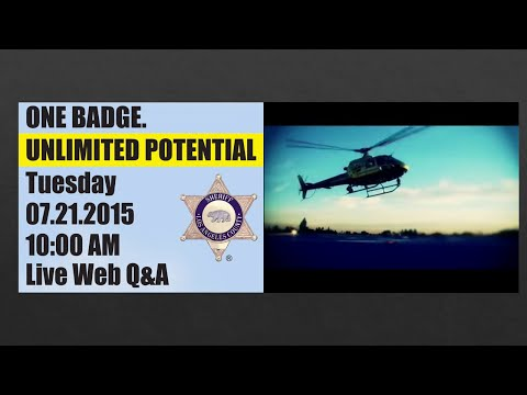 LASD - Live Recruitment Q & A - via Google Hangouts