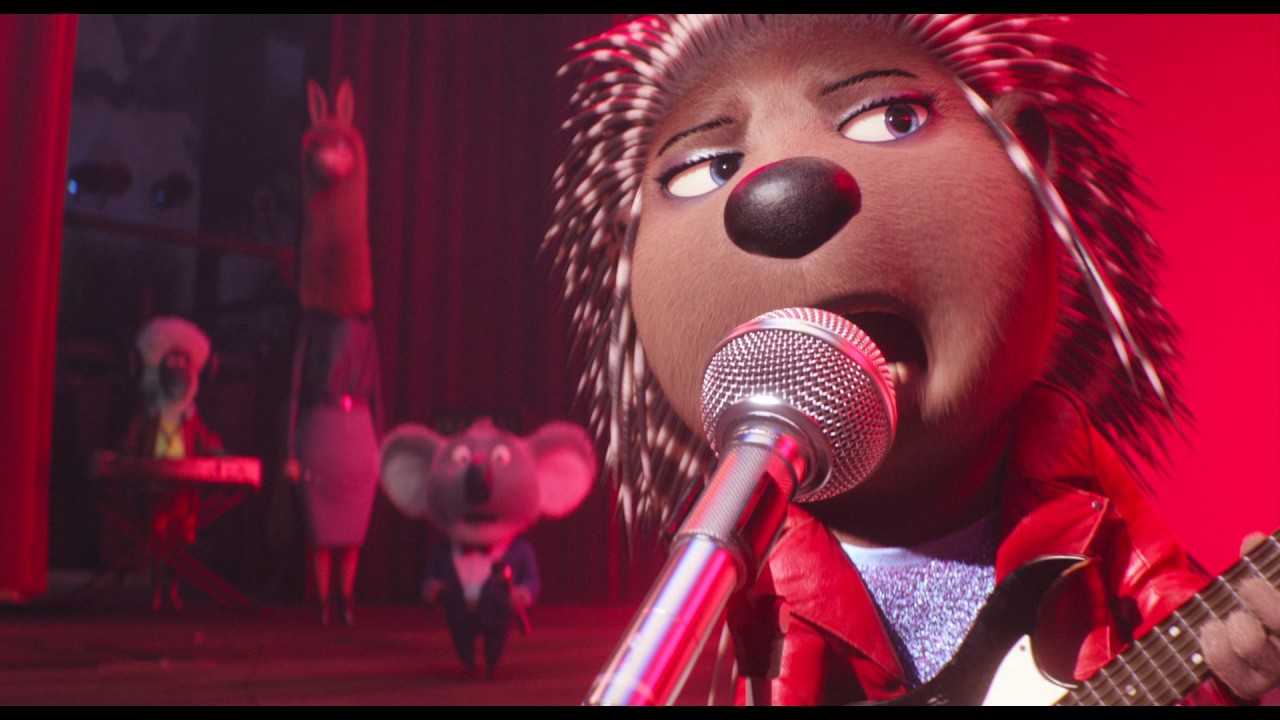 『SING/シング』アッシュ(長澤まさみ)♪「セット・イット・オール・フリー」本編映像 - YouTube