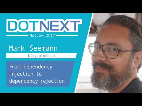 Mark Seemann — From dependency injection to dependency rejection