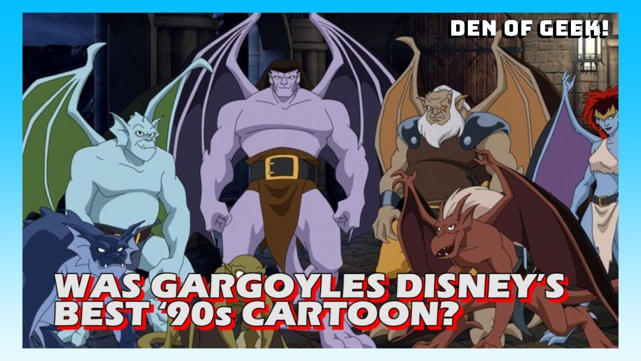 Was Gargoyles Disney S Best 90s Cartoon Youtube