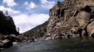 Rafting Browns Canyon in Colorado 4-6-14