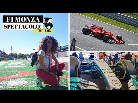 VLOG F1 2017 MONZA: La mia esperienza nel paddock Mercedes \\ PINA TALK