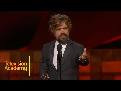 Emmys 2015  Peter Dinklage Wins Outstanding Supporting Actor In A Drama Series
