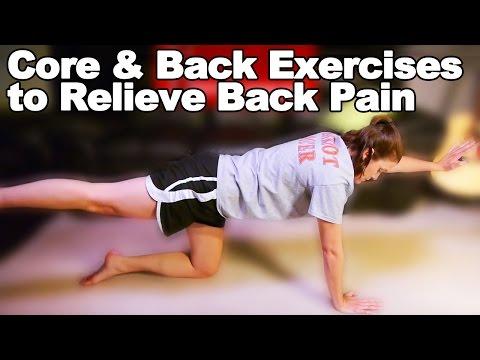 Back Pain Core & Back Strengthening Exercises Ask Doctor Jo
