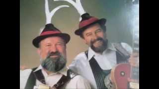 Die Kasermandln Klaus und Sepp Lederhosenjodler