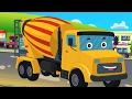 Semen Mixer | Pembentukan Dan Penggunaan | Video Untuk Anak-anak | Formation And Use | Cement Mixter