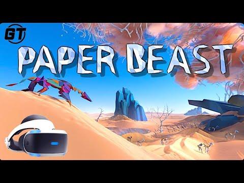 Paper Beast PSVR is Breathtaking u0026 Unforgettable : Walkthrough Chapter 1, 2 u0026 3 (No Commentary)