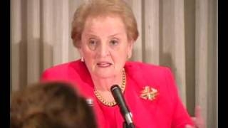 Pew Global Attitudes Survey - Madeleine Albright Comments