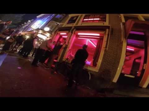 Amsterdam Red Light - Conhcer é fácil, dificil é conseguir fazer um video desse.