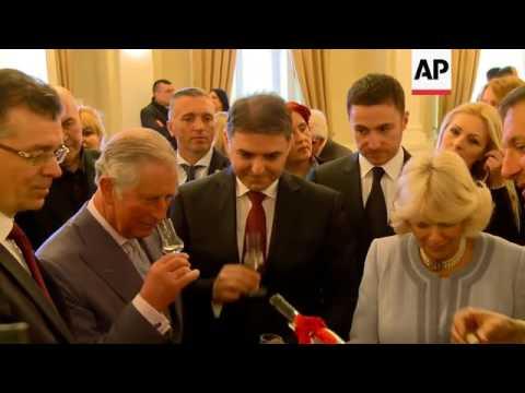 UK royals watch human pyramid dance in Podgorica