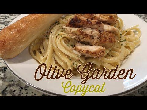 How to make Olive Garden Alfredo and breadsticks | copycat recipe