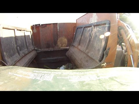 Actions of a Garbage Truck: The Container's POV
