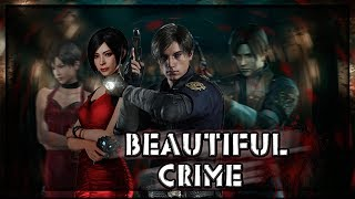 ► Leon S. Kennedy Andamp Ada Wong ϟ Resident Evil  ♔ Beautiful Crime ♔