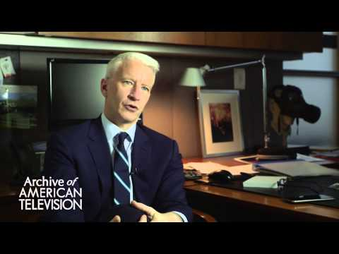 Anderson Cooper discusses advice to an aspiring journalists - EMMYTVLEGENDS.ORG
