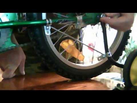 Классический надежный детский велосипед с колесами 16