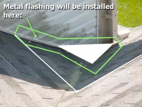 Md Roofing Fancy Roof Cricket Diverts Water In Silver