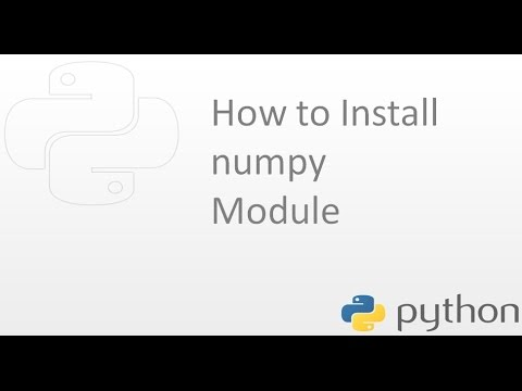 How to install numpy module  in Python on Ubuntu Operating system