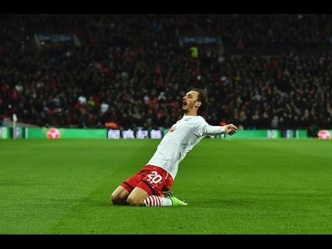 Manolo Gabbiadini vs Manchester United (Wembley) 26/02/17 HD