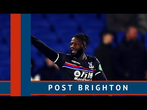 The e-Crystal Palace Podcast S2E30 Post Brighton