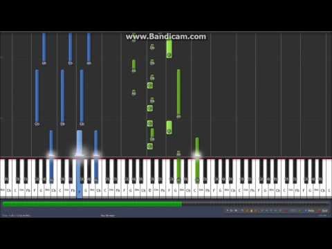 Defying Gravity Piano SOLO Tutorial