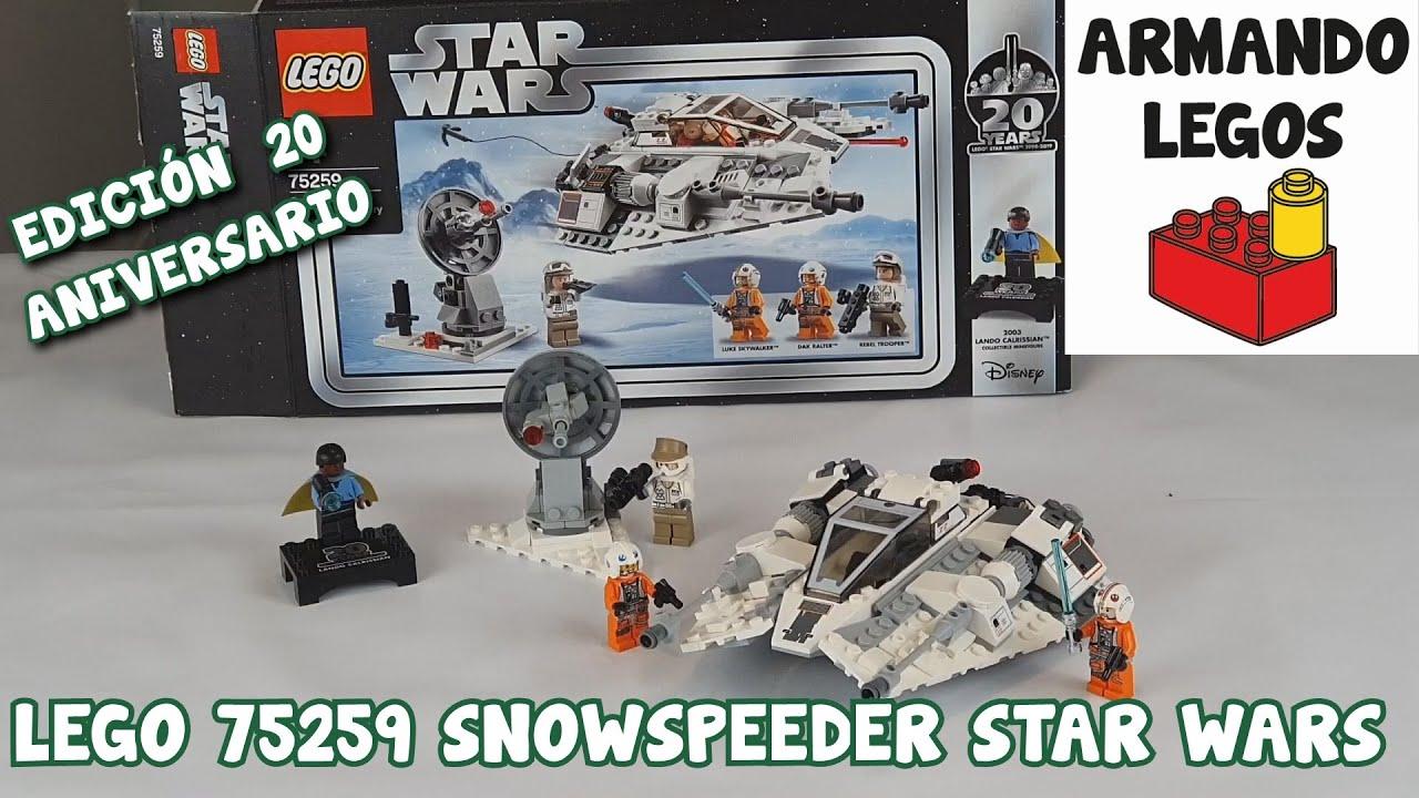 Lego Snowspeeder en español 75259 Lego Starwars
