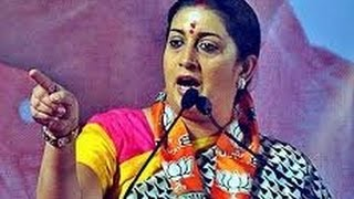 Smriti Irani Fantastic speech: DUMB Rahul Gandhi Must Watch !!!!
