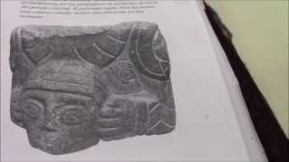 Una cerámica.Degolladores de Pucará