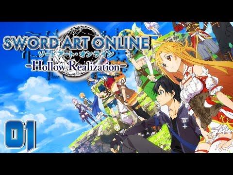 Sword Art Online Hollow Realization Part 1 A NEW GAME! Gameplay Walkthrough