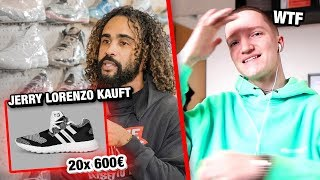 20 gleiche Sneaker für 12.000€ | REAKTION