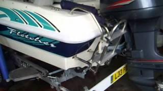 Fletcher 17 GTO Arrowstreak Yamaha130 hp Yr 2000