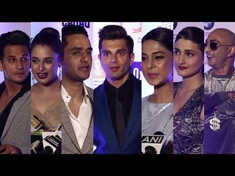 Dadasaheb Phalke Awards Red Carpet 2018 | Karan Singh Grover,Jennifer Winget,Vikas Gupta