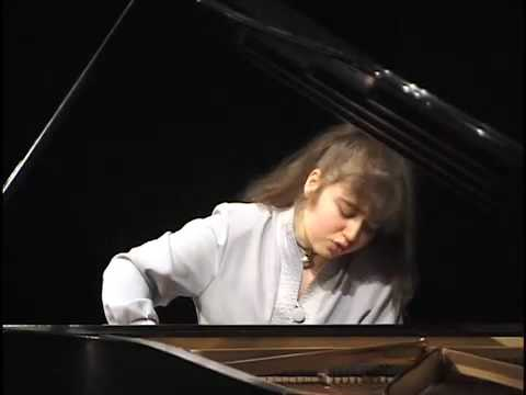 Robert Schumann Symphonic Etudes - Lera Auerbach, piano - Part 1