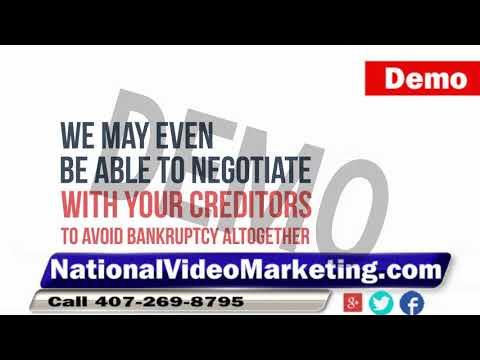 Bankruptcy Attorney Internet Ad Video Marketing