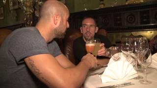 Exklusiv - Ribéry: Mittagessen beim Italiener