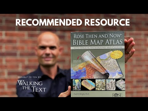 Rose Then And Now Bible Map Atlas - Recommended Resource