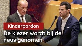 Hiddema vs DENK over kinderpardon: de kiezer wordt bij de neus genomen!