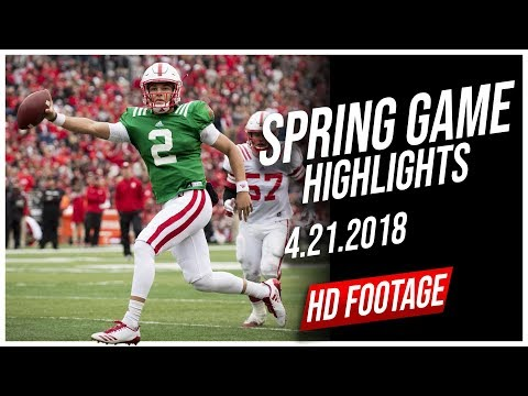 Adrian Martinez Nebraska Spring Game Full Highlights || 4.21.2018